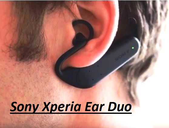 how to connect sony xperia ear duo