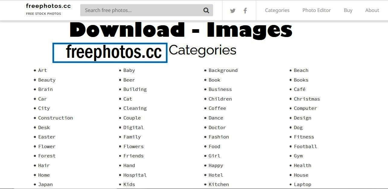 freephotos.cc free download images all category